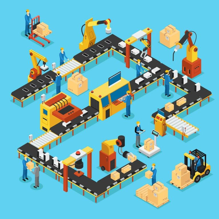 logistic and supply chain for digital transformation of the industry 4.0