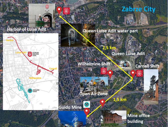 Map of Zabrze City