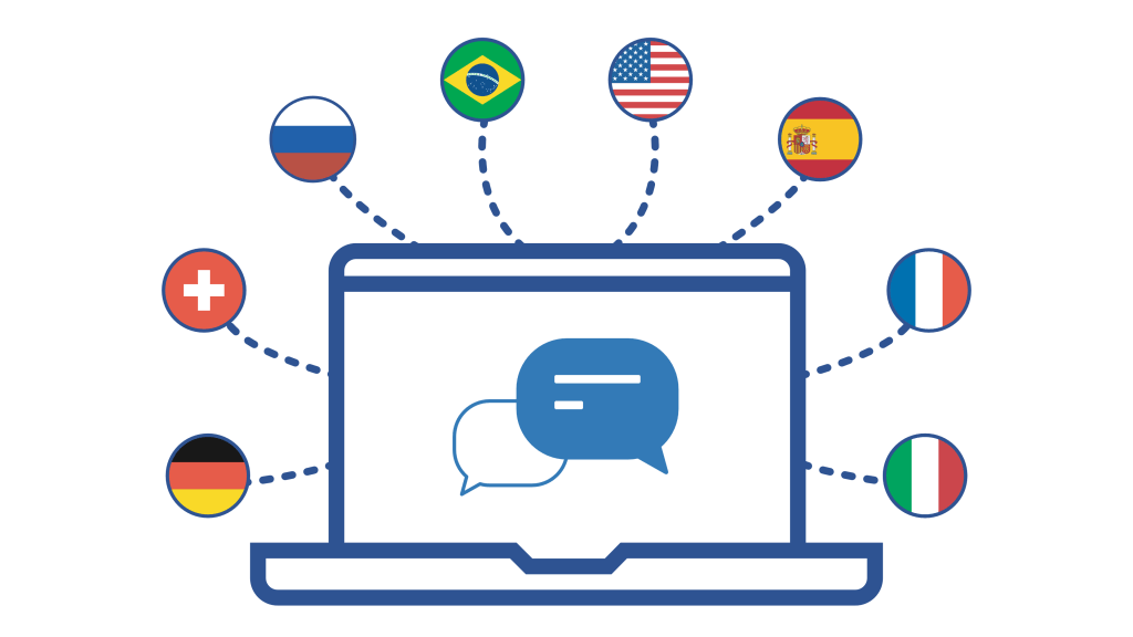 multi language dictionary for IoT - countries around the world