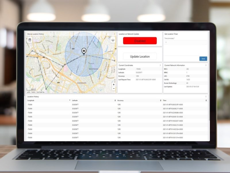 able device dashboard mac desk iot devices